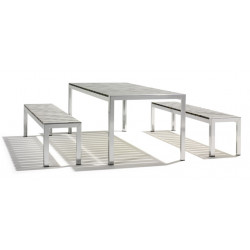 DOMINO TABLE & BENCH