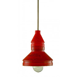 CEILING LAMP RED L