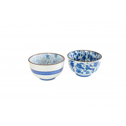 SET OF TWO BOWLS 7449