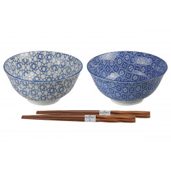 SET OF TWO BOWLS 8953