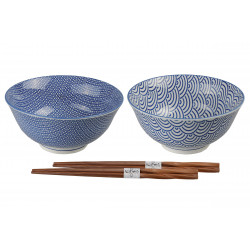 SET OF TWO BOWLS 8954