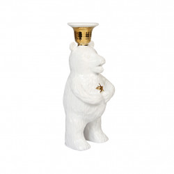 CANDLE HOLDER BEAR