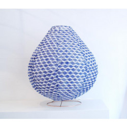 BLUE LEJOS FLOOR LAMP