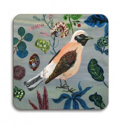 FLORAL SQUARE COASTERS