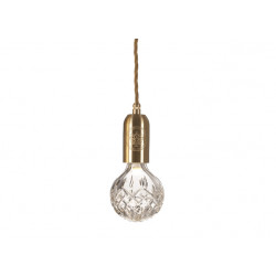 CEILING LAMP CRYSTAL BULB