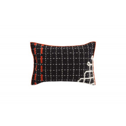 CUSHION BANDAS D BLACK
