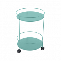 GUERIDONS WHEELED SIDE TABLE
