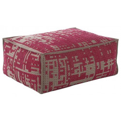 ABSTRACT SOFT POUF