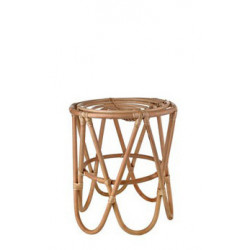 STOOL PAPERCLIP RATTAN