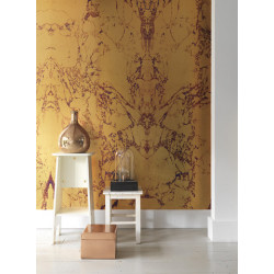 GOLD MARBLE WALLPAPER