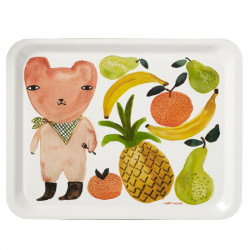 TRAY FRUIT BEAR