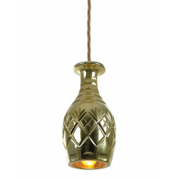 CEILING LAMP DECANTERLIGHT GOLD BELL