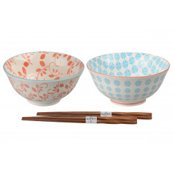 SET OF TWO BOWLS 8958