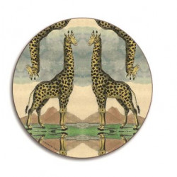 WILDLIFE ROUND COASTERS