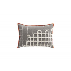 CUSHION BANDAS A GREY