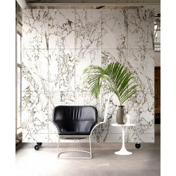 WALLPAPER WHITE MARBLE