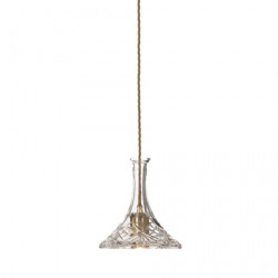 CEILING LAMP DECANTERLIGHT CLEAR SHIP